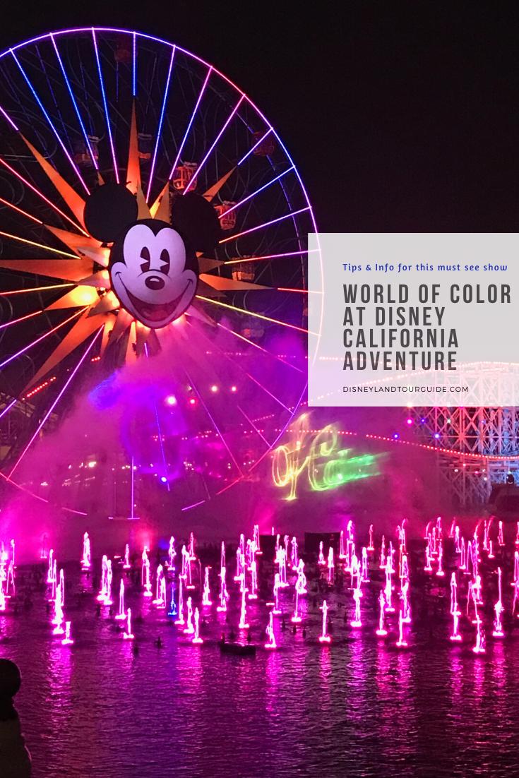 world of color california adventure